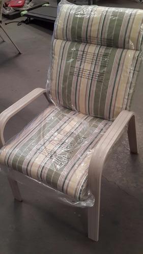 silla mueble jardín patio porche relax nueva importada