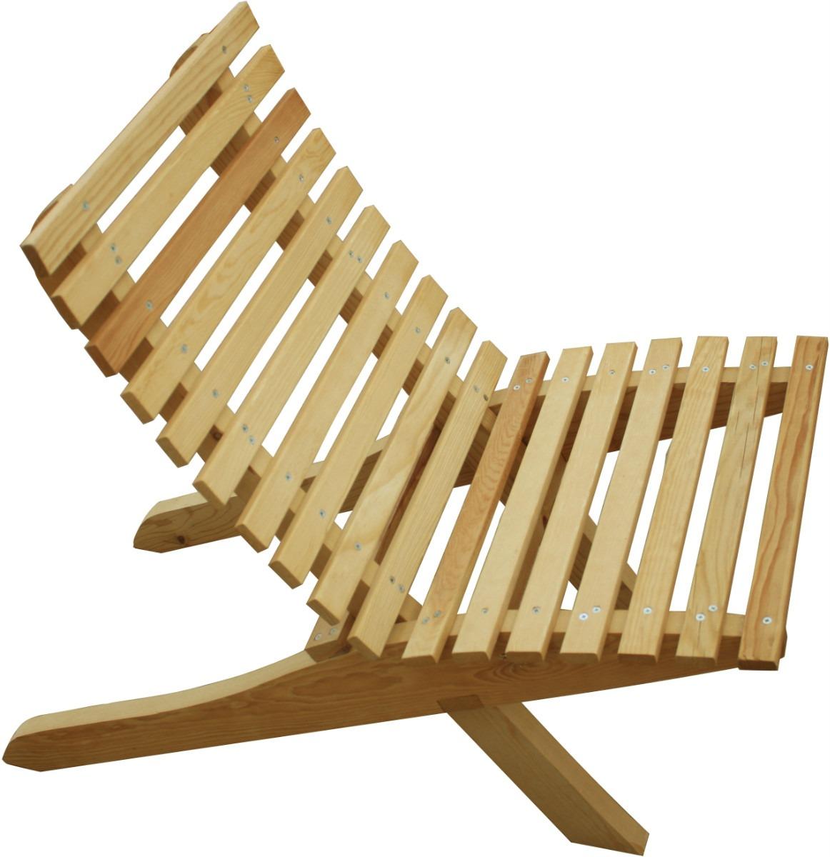 Silla mueble plegable madera jardin o interiores 449 for Sillas de madera precios