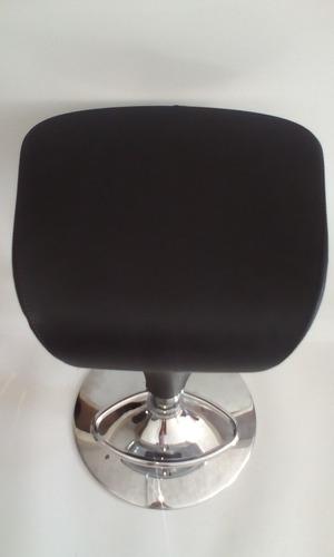 silla multifuncional de barra y cocina swan bi piel