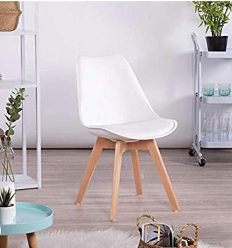 silla multiusos blanca tipo frankfurt