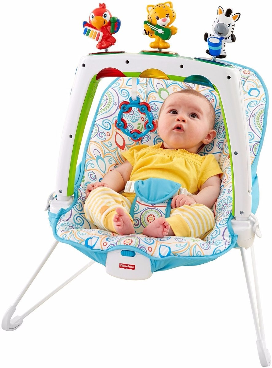 Silla musical para bebe shakira fisher price bs for Silla fisher price