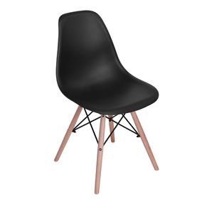 Negra Elegante De Diseño Patas Madera Tugow Moderno Silla CtrdhQs
