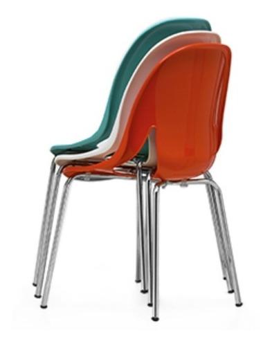 silla nina colores vs cromada hogar oficina espera kromo-s