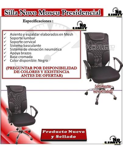 silla novo moscu presidencial oficina escritorio pcnolimit