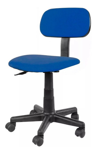 silla oficina brilliant s/apoy. azul