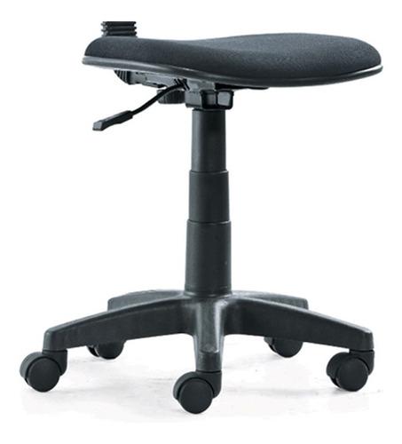 silla oficina brilliant s/apoy. negro  mod: c-213