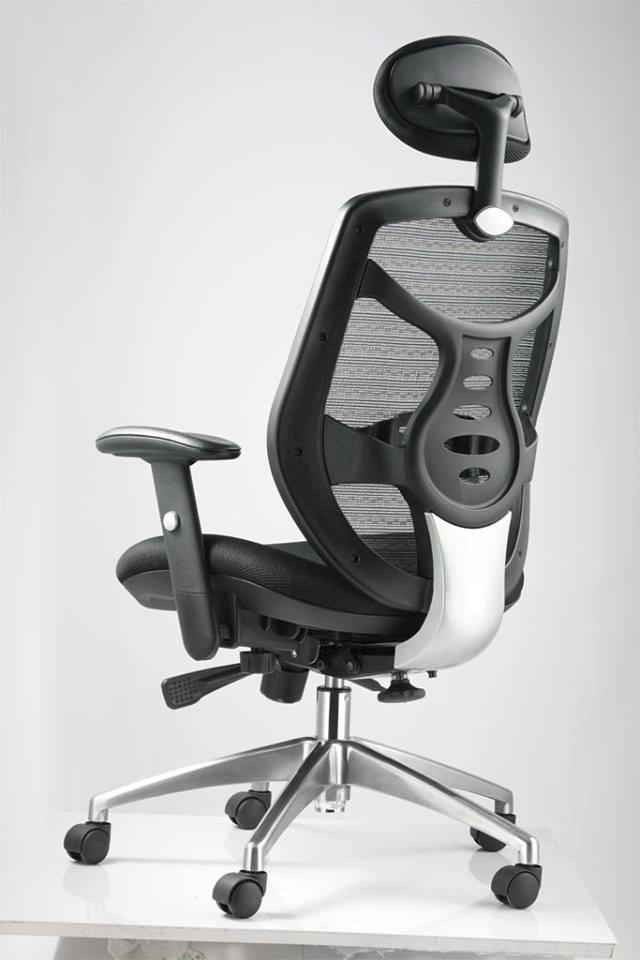 Silla oficina ejecutiva ergon mica lumbar reclinable - Silla oficina reclinable ...