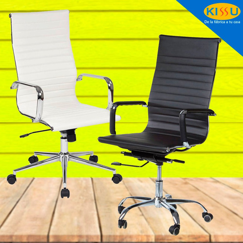 silla oficina ejecutiva escritorio ergonómica linea elegante