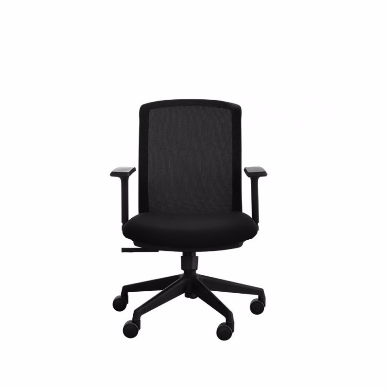 Silla oficina ejecutivo secretaria giratoria ergonomica for Sillas de oficina usadas