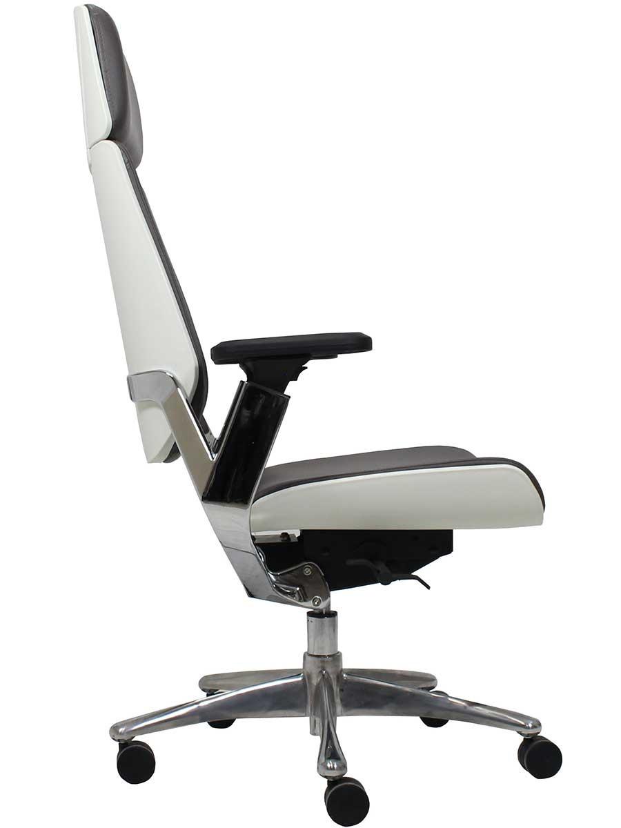 Silla sillon ejecutiva oficina escritorio piel genuina bo for Silla escritorio oficina