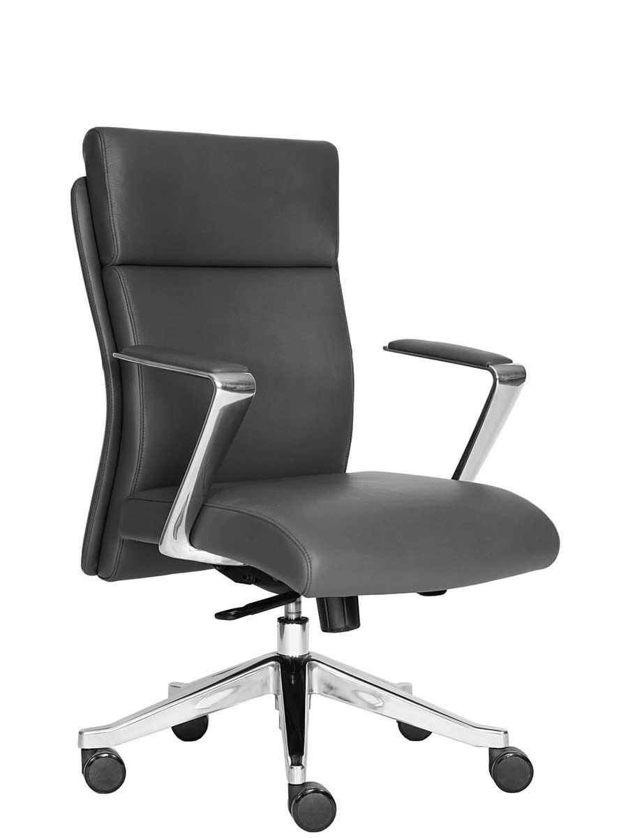 Silla sillon ejecutiva oficina escritorio piel genuina oce for Silla escritorio oficina