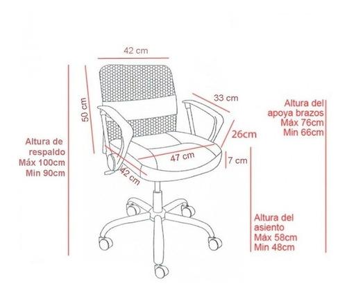 silla oficina escritorio computadora ergonomica ahora 12