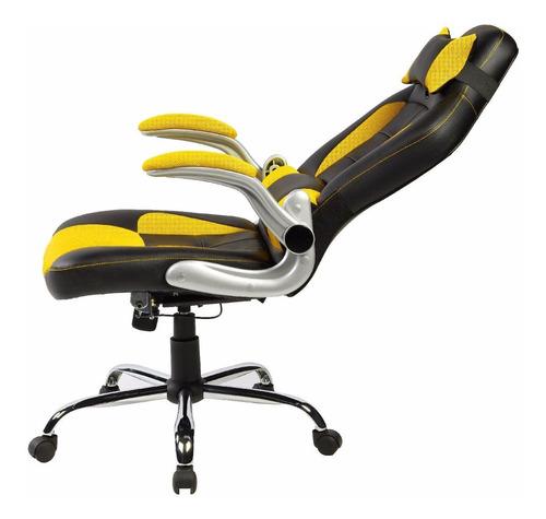 silla oficina gaming reclinable comoda piel sintetica