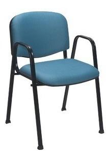 silla oficina recepción ap50 apilable kromo-s colores varios
