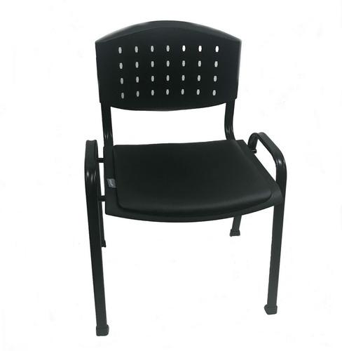 silla oficina recepción prisma 40 x3 apilable kromos colores