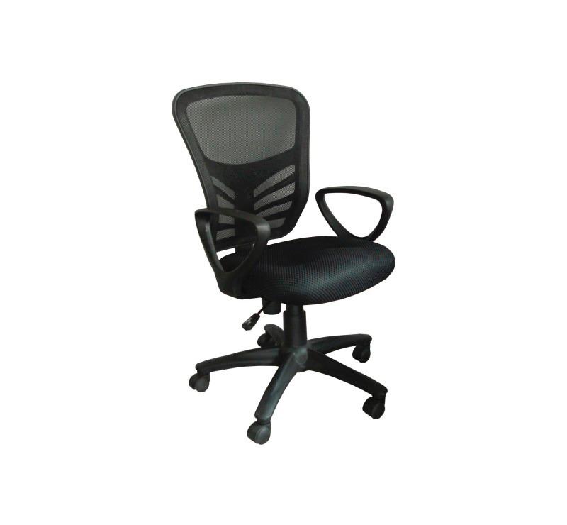 silla oficina semi ejecutiva ajustable ergonomica gebesa