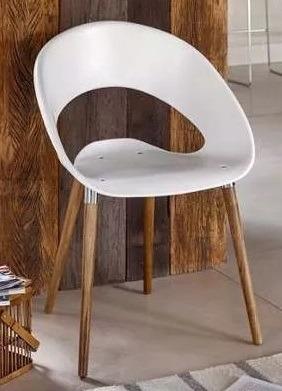silla one wood madera colores varios + envío sin cargo caba