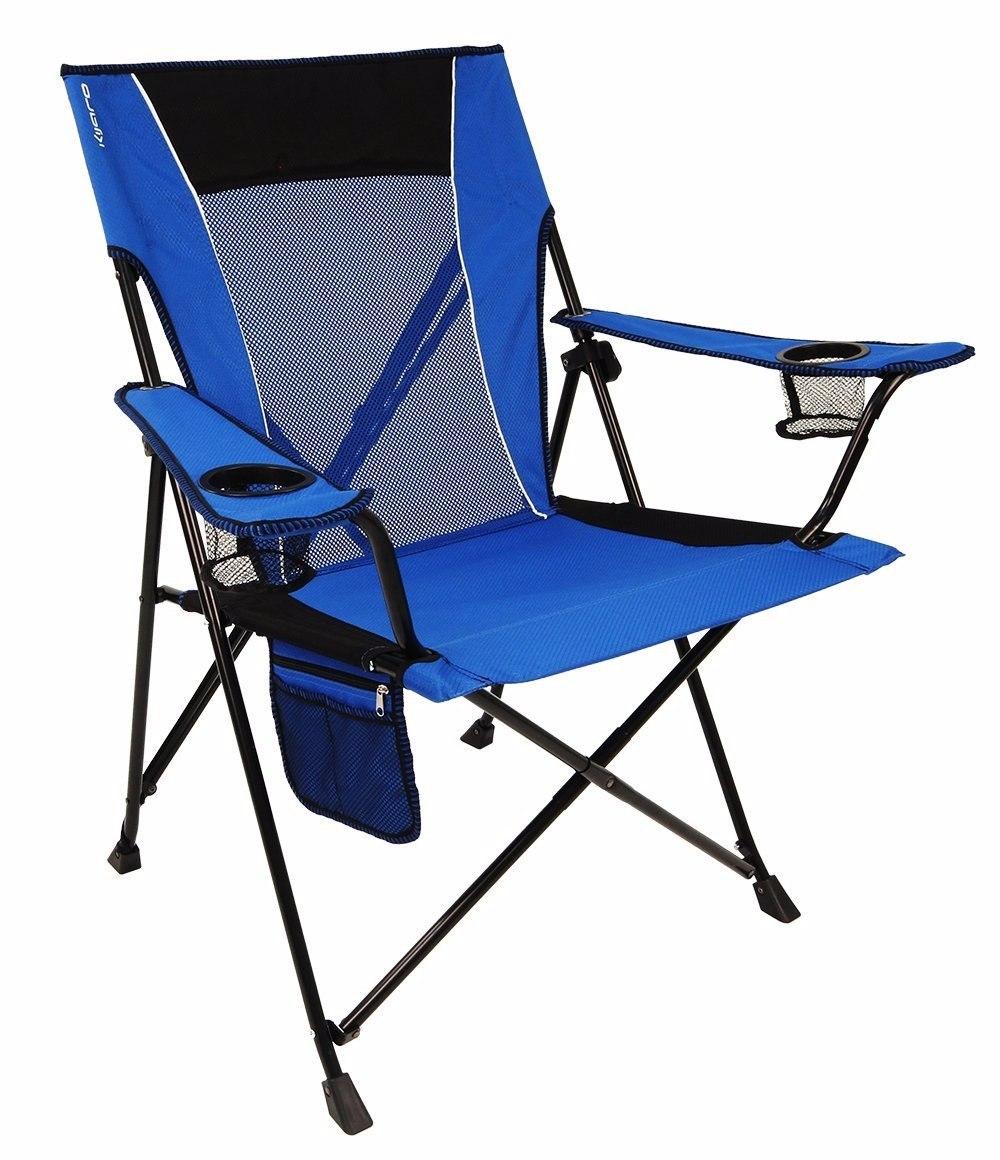 Silla para acampar kijaro dual lock chair 1 en for Sillas para acampar walmart