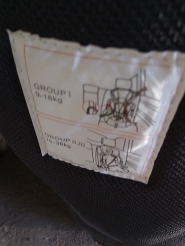 silla para auto bebe