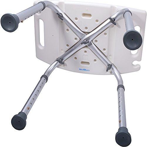 silla para baño asiento acolchado discapacitados ajustable
