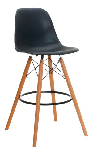 silla para bar restaurante, comedor, sala, barra alta negra