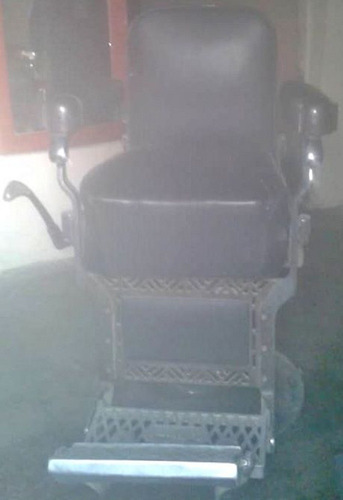 silla para barbería marca koken, bs 70 millones