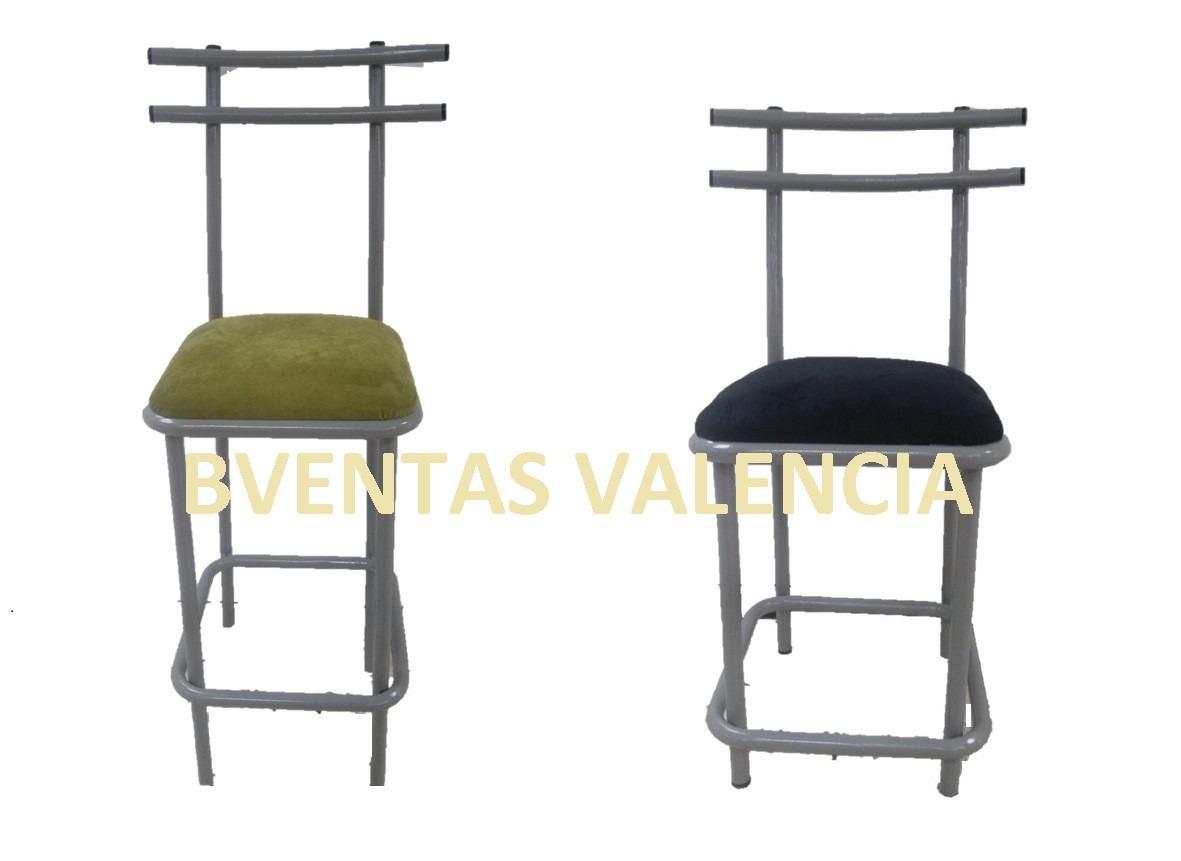 Silla para barra cocina taburete metalico para barra bs for Sillas barra cocina