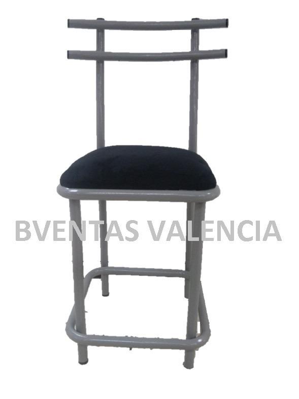 Silla Para Barra Cocina, Taburete Metalico Para Barra - Bs. 120.000 ...