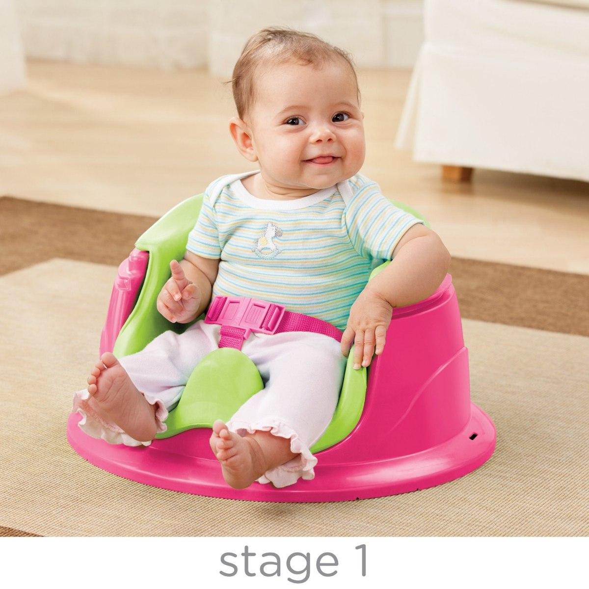 Silla booster gimnasio summer infant para bebe 3 etapa bumbo 1 en mercado libre - Silla de mesa para bebe ...