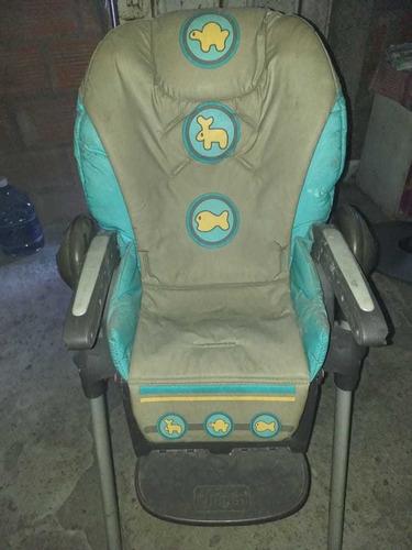 silla para bebé chicco en buen estado