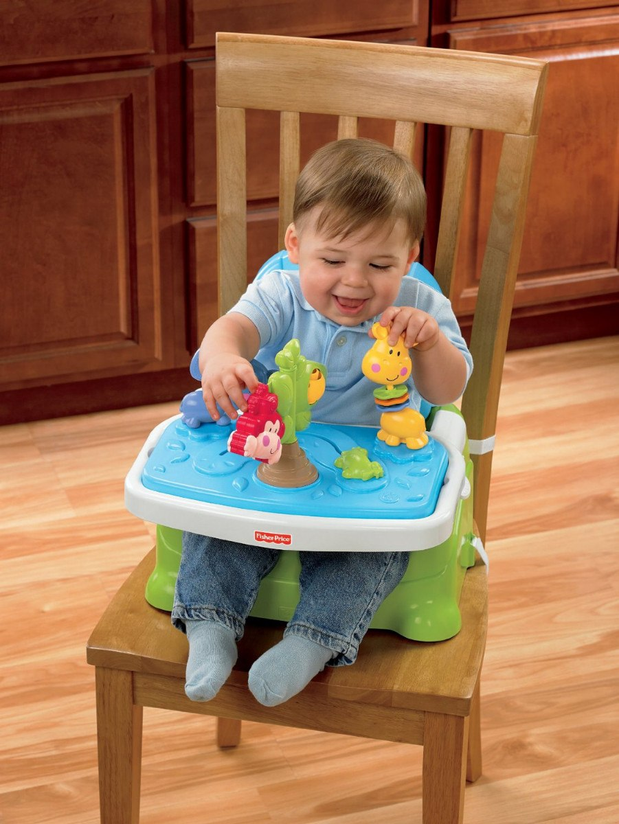 Silla sillita para bebe comer ajustable fisher price vbf for Silla fisher price