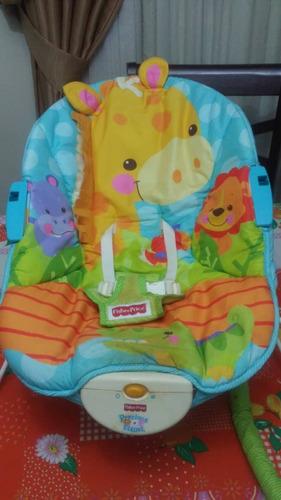silla para bebes fisher price. no vibra. 20 afuera