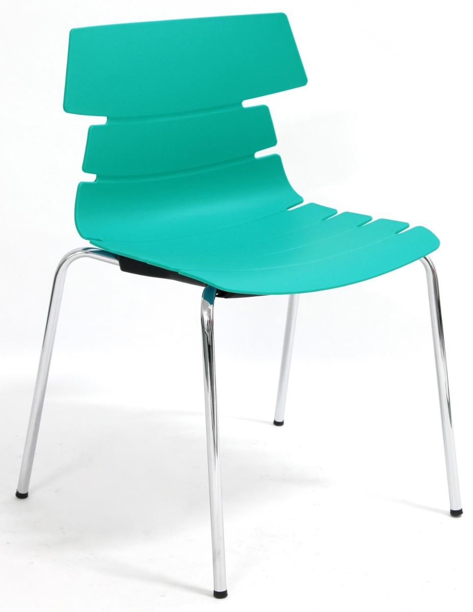 Silla para cafeter a modelo net sin descansa brazos for Sillas para cafeteria