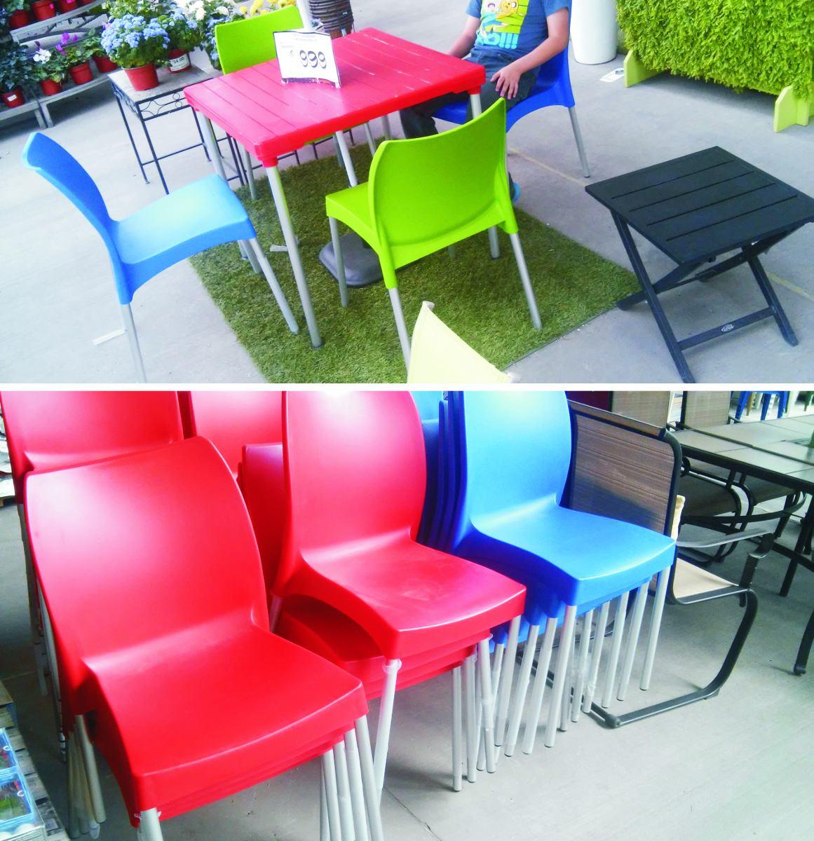 Silla para casa jardin bar cafe restaurante apilable for Casa jardin restaurante