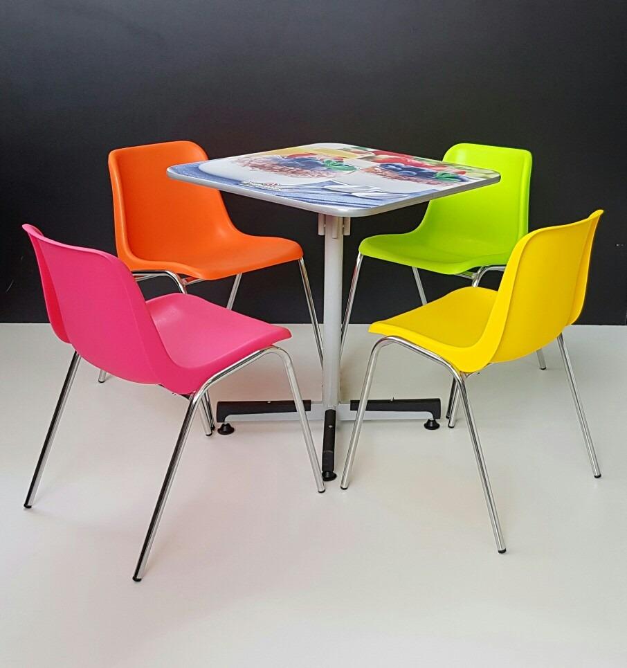 Silla para comedor arkimuebles ideal restaurantes s 90 for Sillas de comedor altas