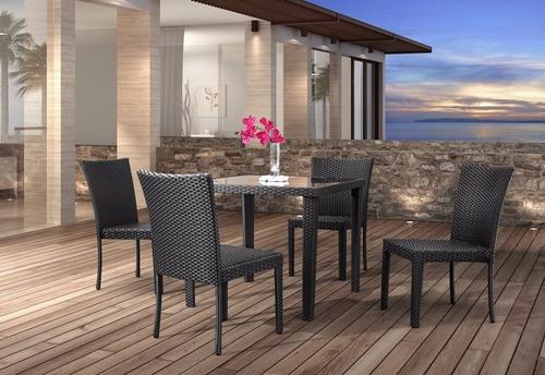 silla para comedor de exterior arica by tendenza home