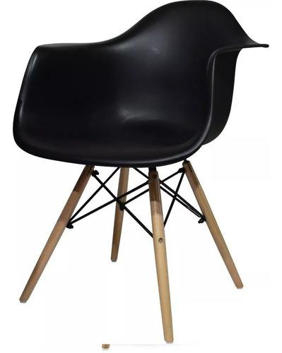 silla para comedor eames  con brazos