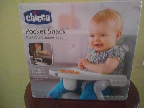 silla para comer de bebe 2 en 1 marca chicco oferta!!