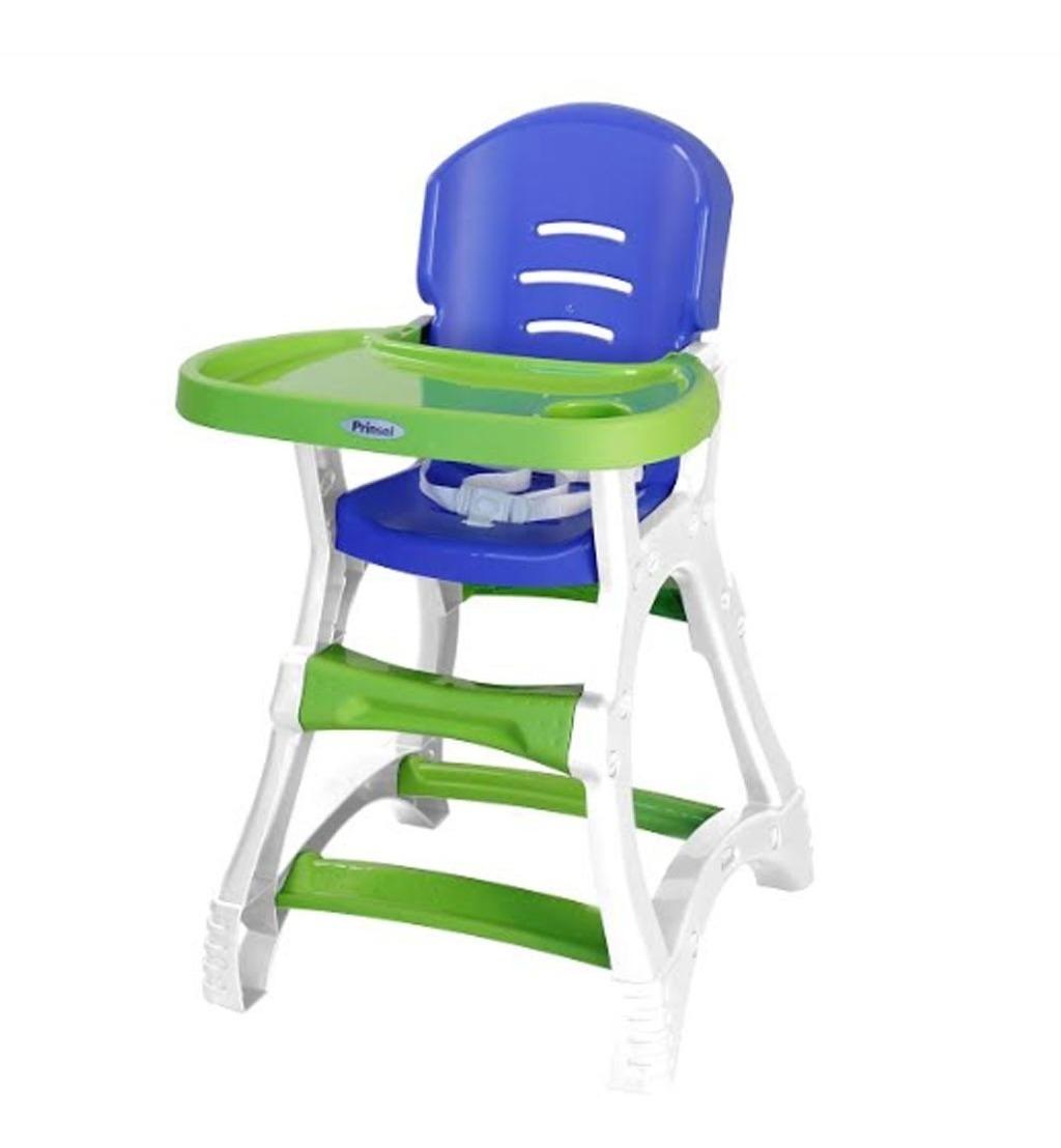 Silla Para Comer Periquera De Bebe Prinsel Dinner Verde Azul