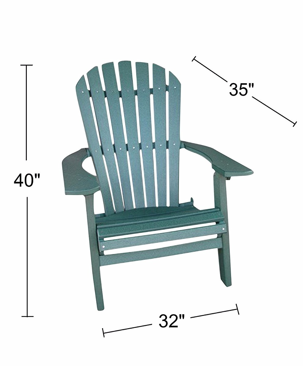 Silla para exterior durable color verde 10 en for Sillas para jardin exterior