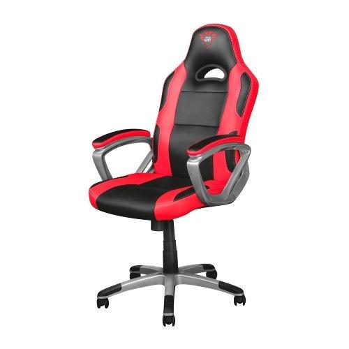 silla para gamer trust gxt 705 ryon negra roja