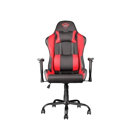 silla para gamer trust gxt 707 negra-roja