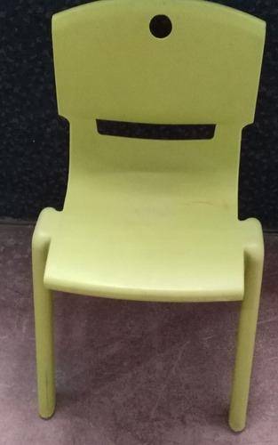 silla para jardin infantil