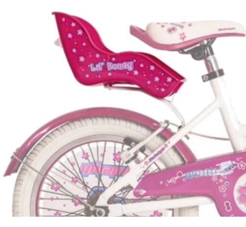 silla para muñeca de bicicleta rodado 12 14 16 20