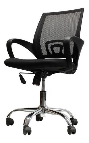 silla para oficina ajustable base metalica envio gratis
