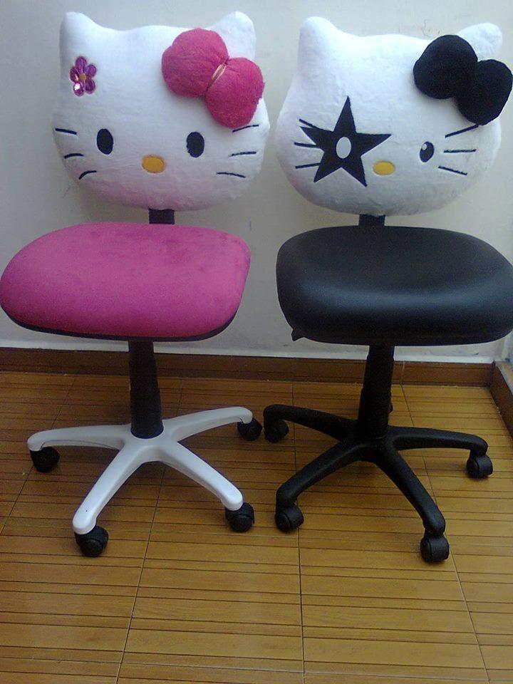Silla para oficina hello kitty 1 en mercado libre for Silla oficina precio