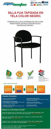 silla para oficina - hogar - auditorio apilables liquidooooo