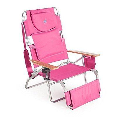 silla para playa divertida y elegante ostrich deluxe