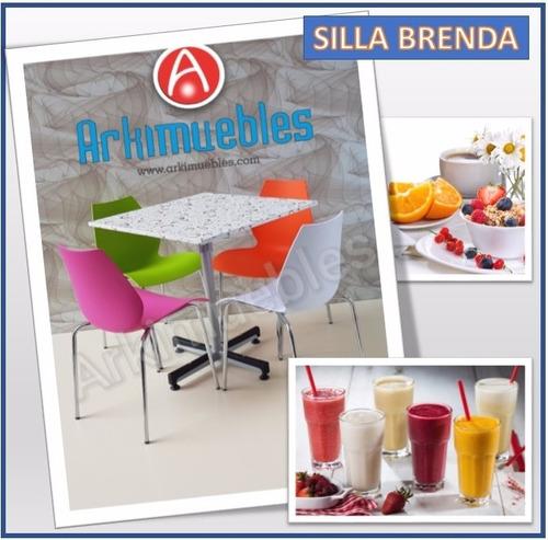 silla para restaurant, jugueria, fuente de soda, cevicheria.