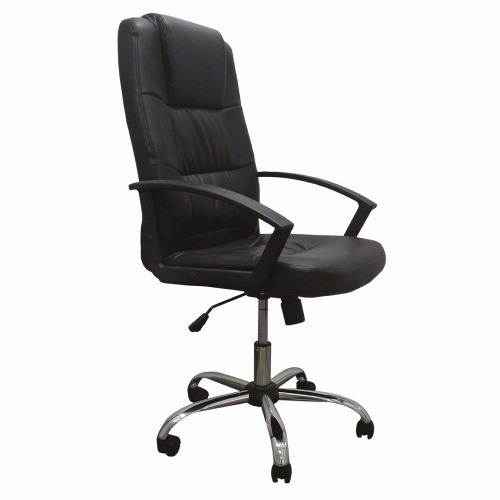 silla pc - sillón ejecutivo de escritorio con base metalica
